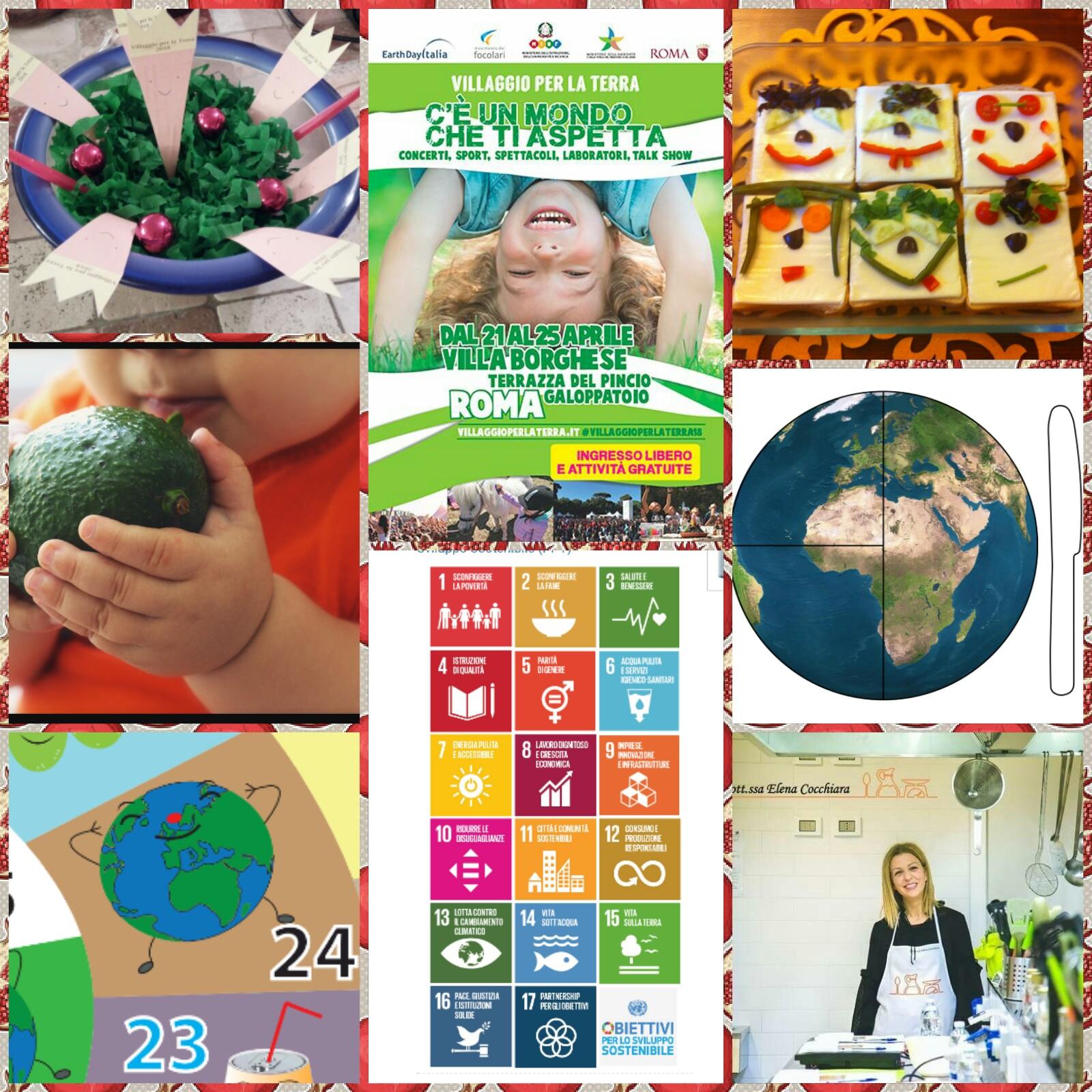 Villaggio per la Terra: Giochi, storie e cibi per chi ama la Terra