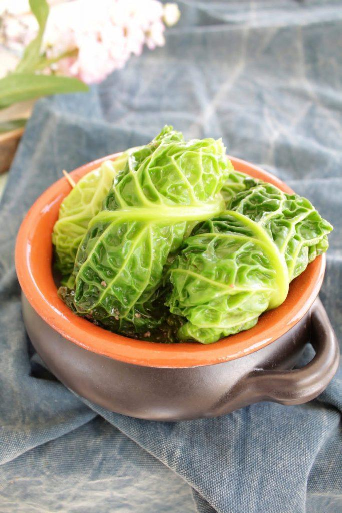 Io Resto in Cucina Le Ricette della Domenica: Involtini di Verza